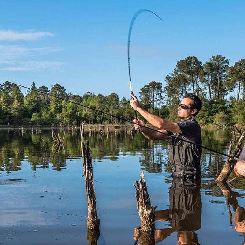 equipamento para pesca com amostras