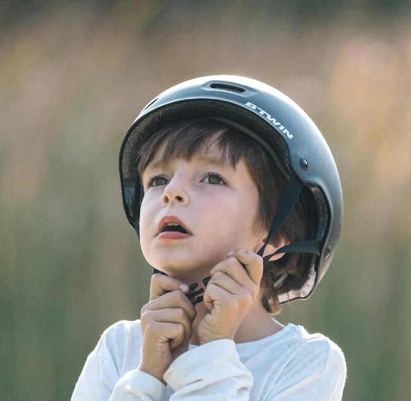 如何佩戴兒童頭盔?