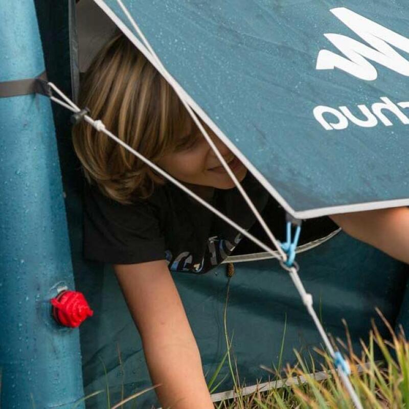 como secar uma tenda