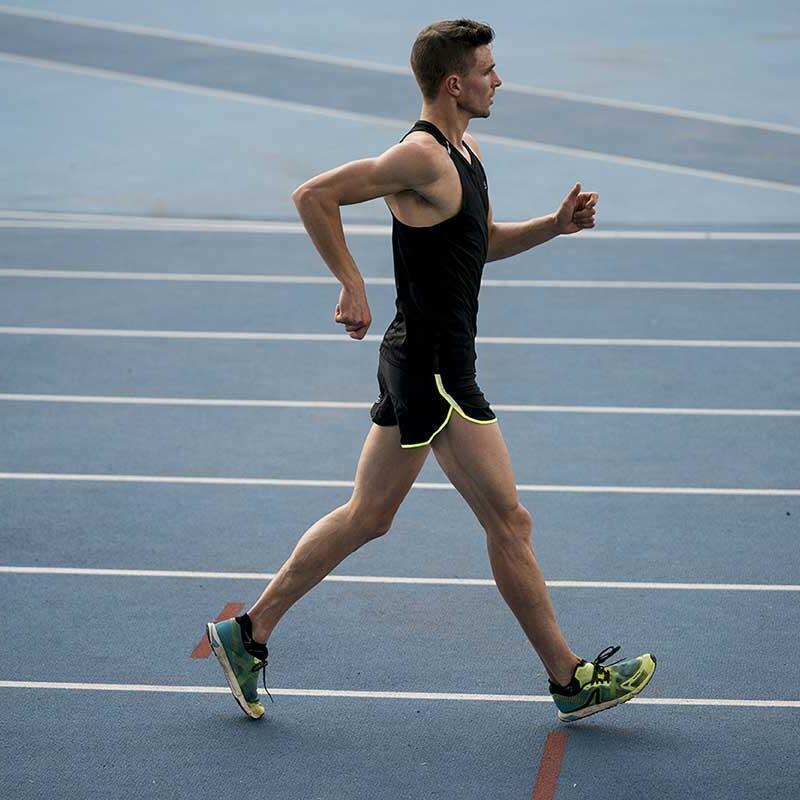 Les techniques de marche athlétique