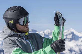 como escolher skis de adulto