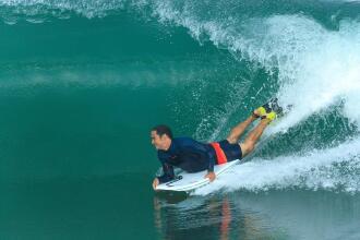 Olaian marca de surf decathlon hendaia