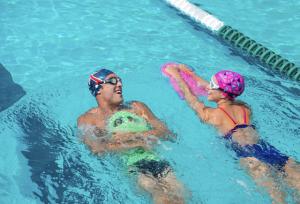 zwemplank pull buoy zwembadtraining
