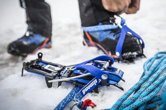 Como escolher crampons de alpinismo?