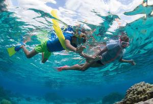 comment pratiquer snorkeling randonnée palmée enfants subea decathlon