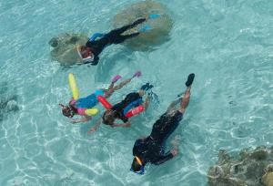 conseil avantages apport flottabilité snorkeling subea decathlon