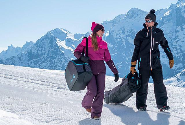 bien pr parer sa valise pour partir au ski les conseils. Black Bedroom Furniture Sets. Home Design Ideas