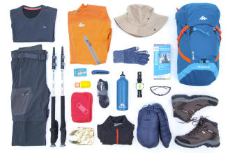 List of essential items for properly preparing your backpack - teaser
