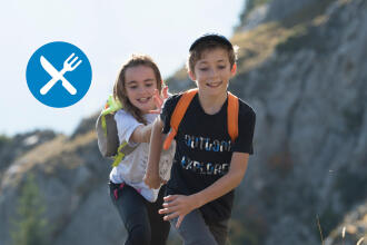 6 easy hiking recipes to do with your children - teaser