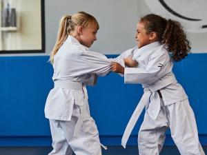 desporto de combate criança