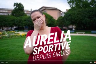 image tease témoignage Aurélia - se mettre au sport