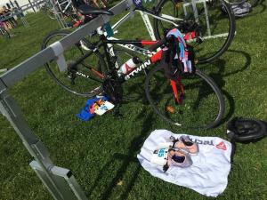 photo teasing premier triathlon - témoignage