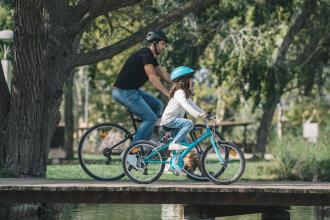 如何和孩子一起騎自行車上路