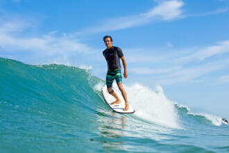 calções de praia surf