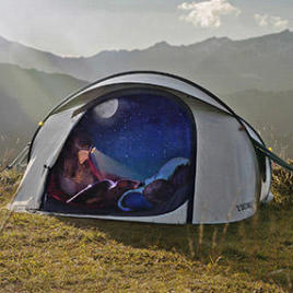 Tente 2 seconds Fresh&Black Quechua