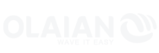 logo olaian blanc