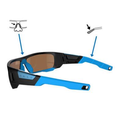 Comment choisir des lunettes - maintien sur le visage