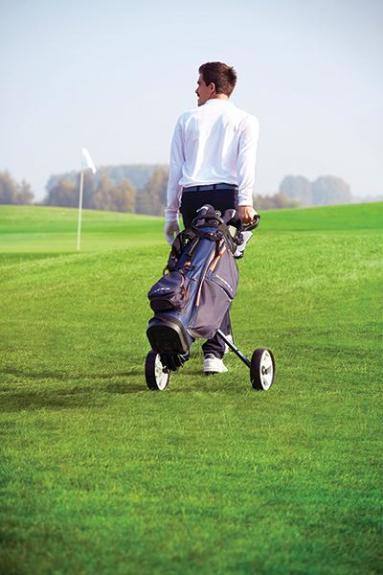 chariot de golf deux roues inesis
