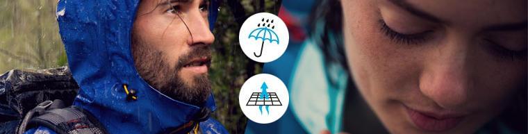 Så håller du dig torr på vandringen: våra 8 tips