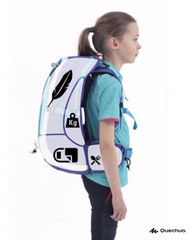 Como distribuir adequadamente a carga na mochila
