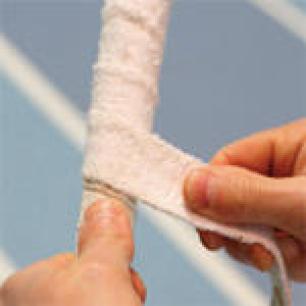 grip eponge badminton