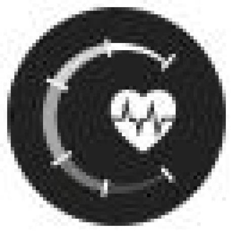 Montre cardio cardiofrequencemetre Rythme cardiaque Cardio-training Fréquence cardiaque pulsation cardiaque