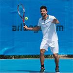 Raquette de tennis pou niveau loisir maniabilité