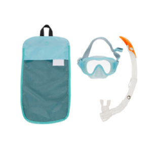 Le kit de snorkeling avec masque et tuba