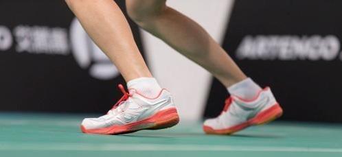 résistance à l'abrasion chaussure de badminton