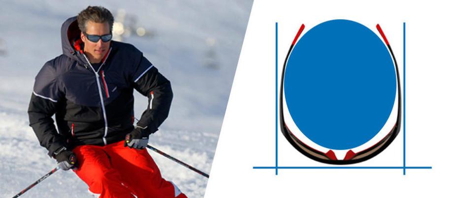 Comment choisir des lunettes randonnée ski - des lunettes couvrantes - Decathlon