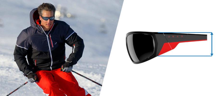 95ca386228deeb Comment choisir des lunettes randonnée ski - des lunettes couvrantes -  Decathlon
