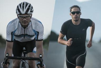 騎車及跑步用的太陽眼鏡