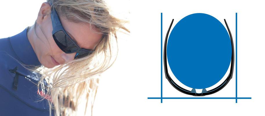 Como escolher óculos para desportos aquáticos - óculos abrangentes - Decathlon
