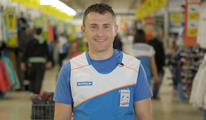 Alexandre, vendeur plongée au Decathlon de Toulon
