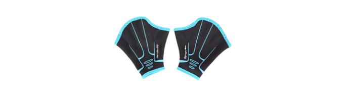matériel aquagym gants palmés
