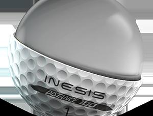 balle de golf 100 Inesis Décathlon pour joueurs débutants