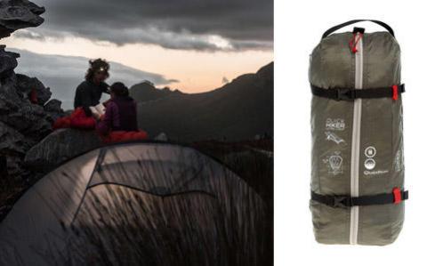 comment choisir la compacité d'une tente de bivouac ou de randonnée ?