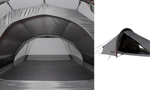 double toit, pré-montage des tentes de bivouac, randonnée.