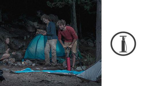 como escolher a bomba de enchimento de tendas e colchões de campismo?