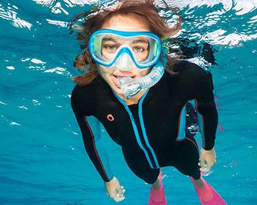 Le masque de snorkeling