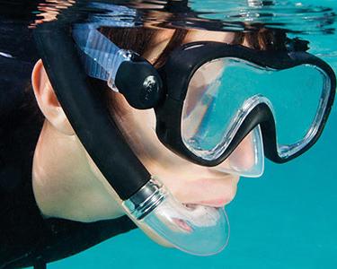 Le tuba de snorkeling