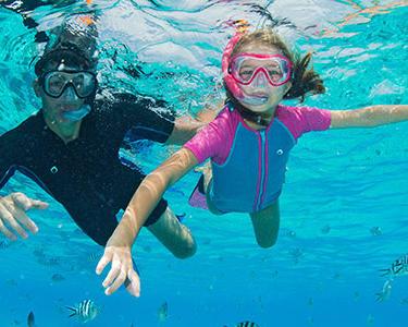 quantité limitée Conception innovante super pas cher Faire du snorkeling avec des enfants, est-ce possible ...