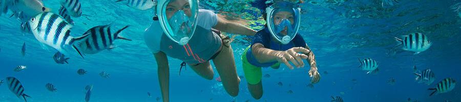 comment pratiquer snorkeling randonnée palmée enfants conditions météo subea decathlon