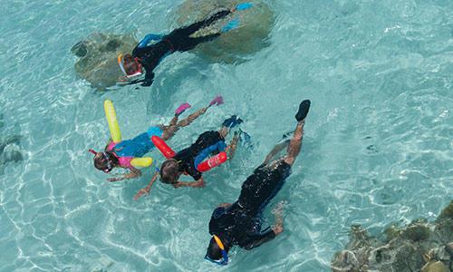 conseils pratique snorkeling randonnée palmée enfants subea decathlon