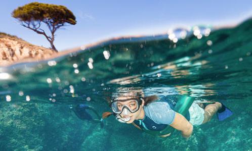 comment choisir masque snorkeling randonnée palmée subea decathlon