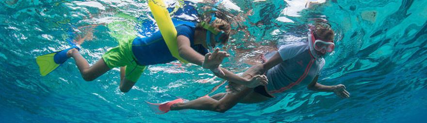 règles de sécurité snorkeling randonnée palmée conseils subea decathlon