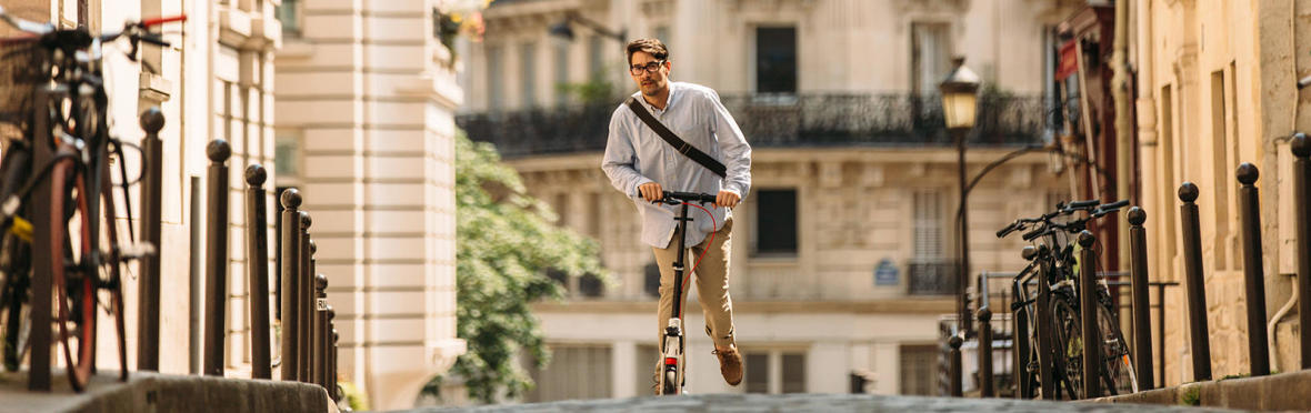 7 buoni motivi per scegliere il monopattino in città