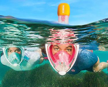 Nos conseils pour bien choisir la taille de votre masque de snorkeling Easybreath