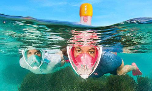 comment choisir taille masque easybreath snorkeling randonnée palmée conseils subea decathlon