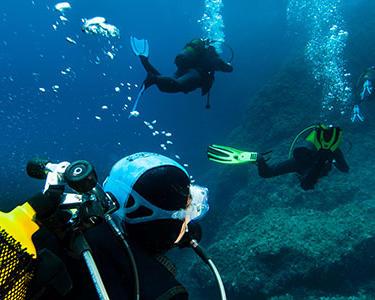 Débuter la plongée sous-marine